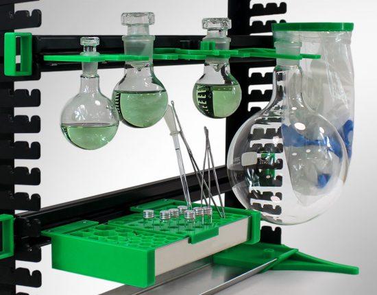 SmartRack Organisationssystem für Laborarbeitsplätze